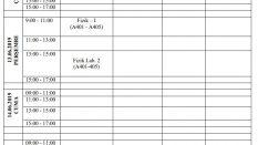 Meteoroloji Mühendisliği Bölümü Bütünleme Sınav Programı